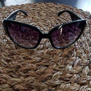 Coach black sunglasses